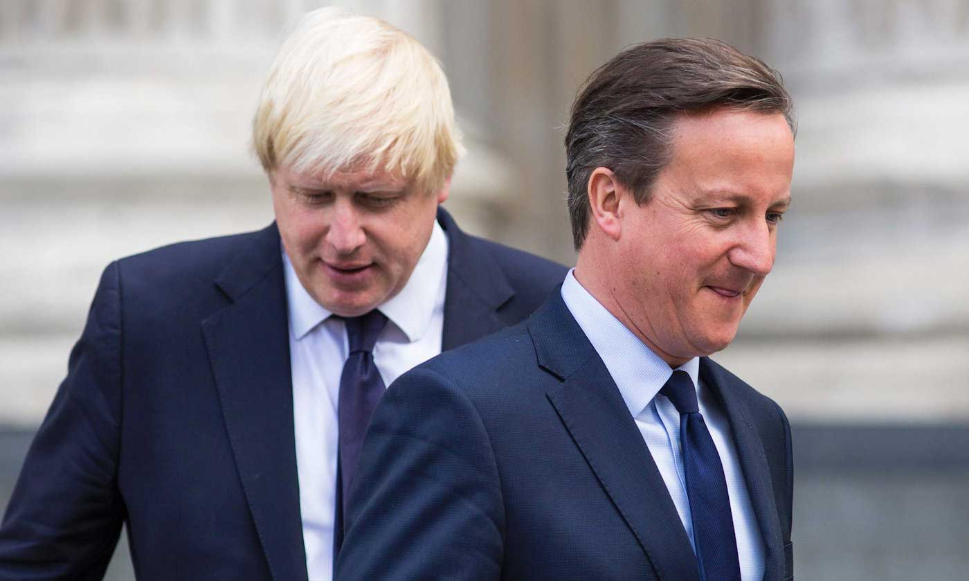boris johnson et david cameron